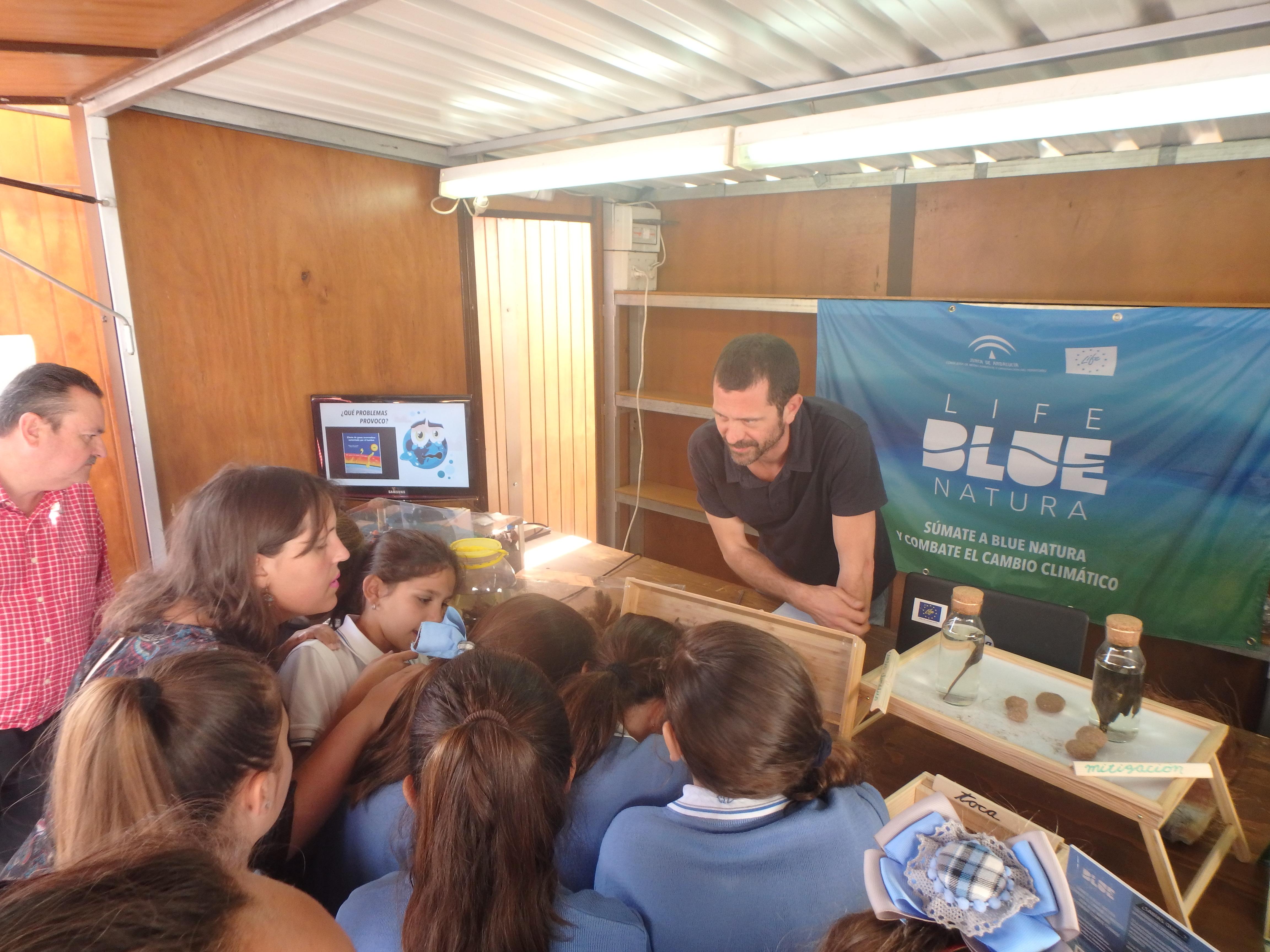 life Blue Natura Hits Algecira in 2019